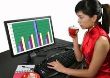 Bürofrau Lizenzfreies Stockfoto