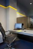 Bürofunktionsplatz Stockbilder