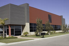 Bürogebäude Lizenzfreies Stockfoto