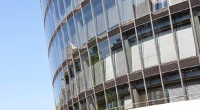 Bürogebäude - Detail Lizenzfreies Stockbild