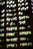Bürogebäude nachts, Sydney, Australien stockfotos