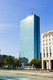 Bürogebäude in Warschau Stockbild