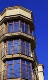 Bürogebäude Windows Stockbild