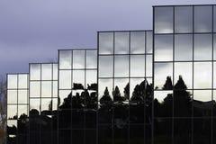 Bürogebäude-Zusammenfassung Lizenzfreie Stockfotografie