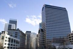 Bürogeschäftsgebäude stockfotos