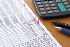 Bürogeschäftshintergrund Lizenzfreie Stockfotos
