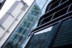 Bürohaus-Architekturlondon-Stadt Großbritannien Stockbild