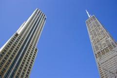 Bürohaus in Chicago Stockbilder