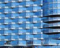 Bürohaus-Fassade Lizenzfreie Stockbilder