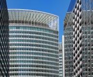 Bürohaus-Fassade Stockfoto