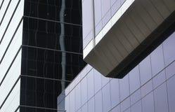 Im Stadtzentrum gelegenes Bürohaus Stockfoto