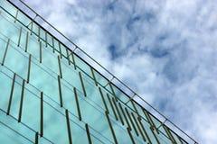 Bürohausfassade Stockbild