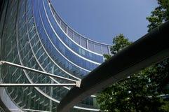 Bürohausfenster Lizenzfreies Stockfoto