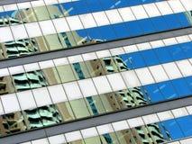 Bürohighrise-Auszug Lizenzfreie Stockfotos