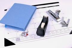 Bürohilfsmittel und -zubehör Lizenzfreie Stockbilder
