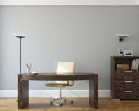 Büroinnenraum. Stockbilder
