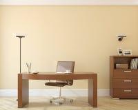 Büroinnenraum. Stockfoto