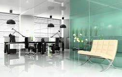 Büroinnenraum Stockfoto