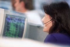 Bürokommunikationen Stockbild
