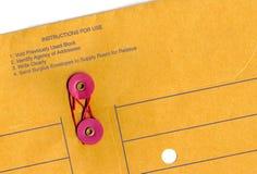 Bürokommunikationsumschlag Lizenzfreies Stockbild
