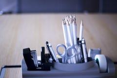 BüroKonferenzzimmerbleistifte Lizenzfreie Stockbilder