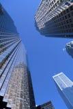 Bürokontrolltürme Stockfoto