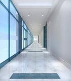 Bürokorridor Lizenzfreies Stockfoto