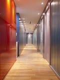 Bürokorridor Stockfotos