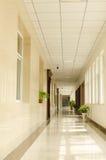 Bürokorridor stockbild