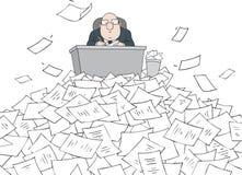 Bürokrat stock abbildung