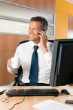 Büroleben lizenzfreies stockbild