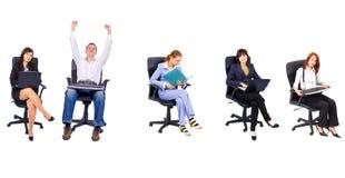 Büroleute Lizenzfreie Stockfotografie