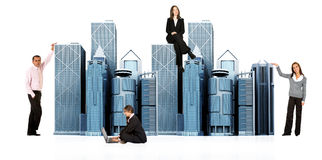 Büroleute Stockfoto