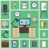Büromaterial Lizenzfreies Stockfoto