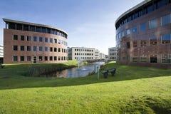Büropark und Umwelt Lizenzfreie Stockfotos
