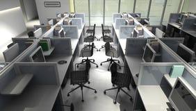Büroräume Stockfotos