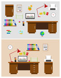 Büroräume Stockbilder
