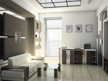 Bürorestrauminnenraum Lizenzfreies Stockfoto