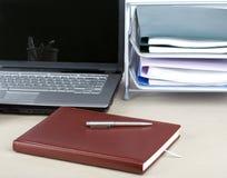 Büroset Lizenzfreies Stockfoto