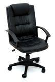 Bürostühle über Weiß Lizenzfreies Stockfoto