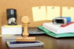 Bürostempel stockfotografie