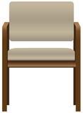 Bürostuhl für Besucher Stockfotografie
