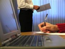 Bürostunden Lizenzfreie Stockbilder