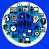Büroteam Lizenzfreie Stockfotos