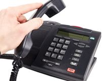 Bürotelefon lizenzfreies stockfoto
