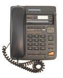 Bürotelefon mit Netzkabel Lizenzfreies Stockbild