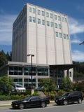 Büroturmschichten, die Werbung errichten Stockbilder
