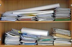 Büroverwirrung Stockfotografie