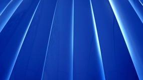 Bürovorhang gegen die helle Außenseite stockfoto