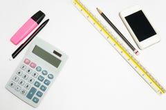 Bürowerkzeug Lizenzfreie Stockfotos